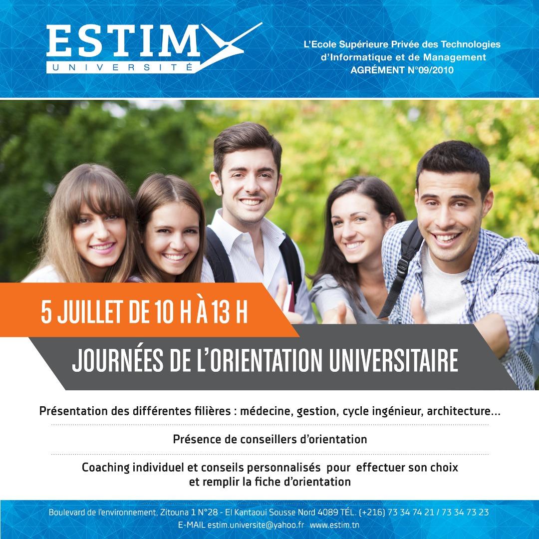 Journée de l'orientation Universitaire