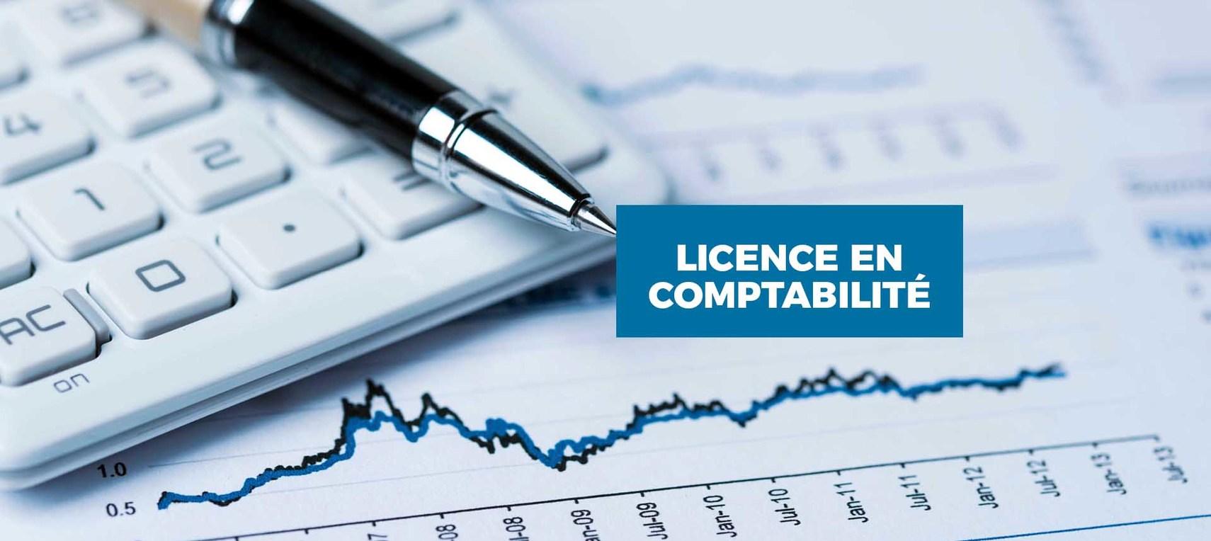 Licence en   Comptabilité