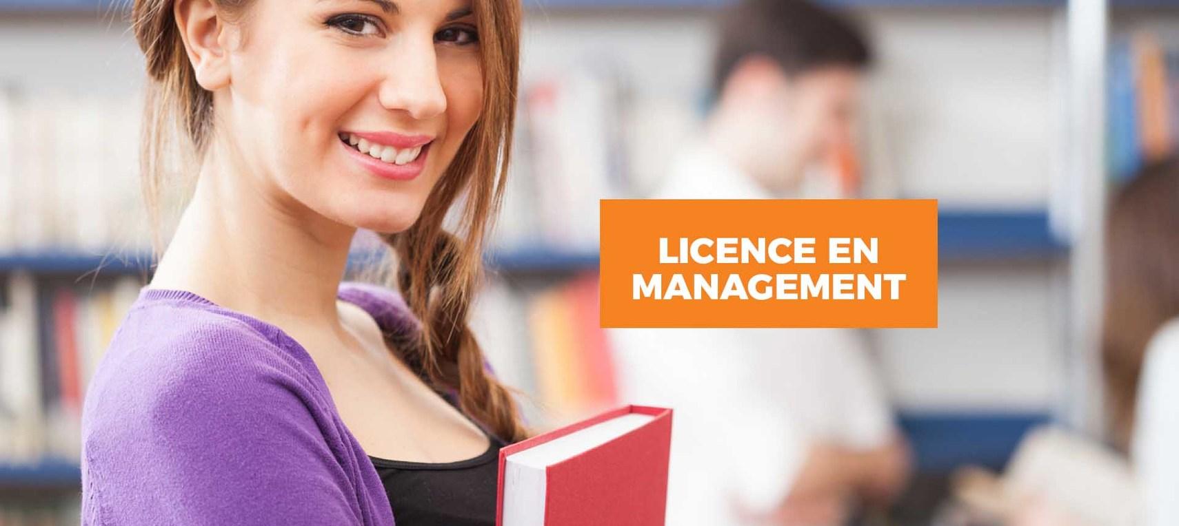 Licence en  Management